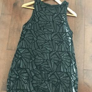 H&M Dresses - Geometric sequin dress